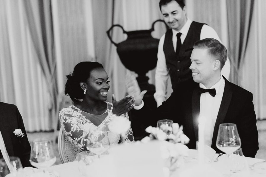 Sirmione Wedding photographer villa cortine luxury dinner