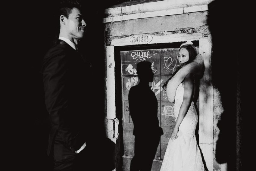 Wedding Photographer Venice winter elopement