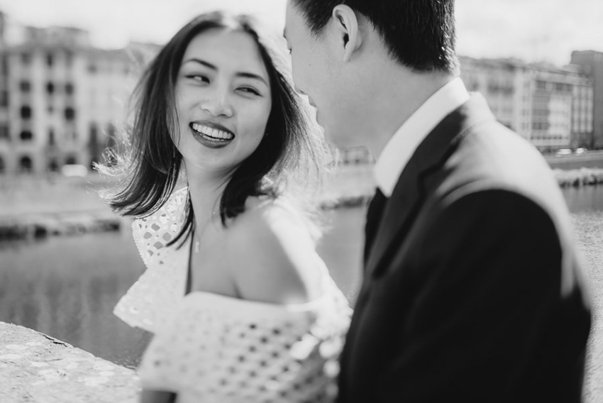 Pre Wedding Photography Italy Florence intimate romantic couple