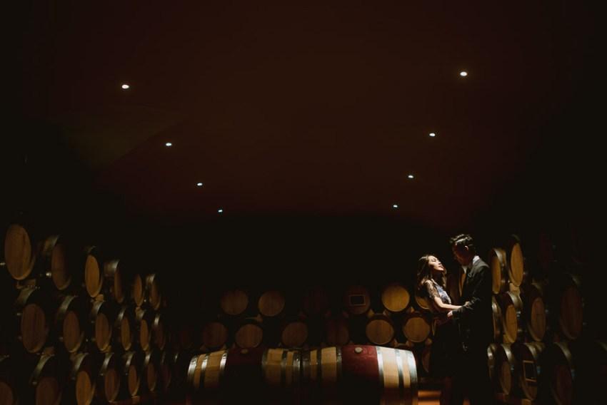 Pre Wedding Photography Italy tuscan cellar fine art creative po
