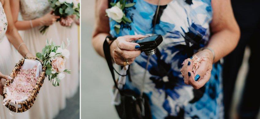 wedding photographer umbria borgo della marmotta touching ceremo