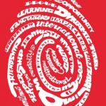 Logo Impact - una impronta digitale composta da tante parole