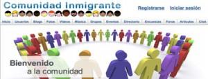 Francesc Romeu. red social inmigrantes