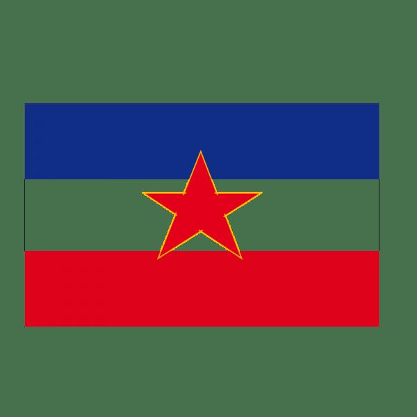 Autocollant Stickers Drapeau Yougoslavie Pas Cher