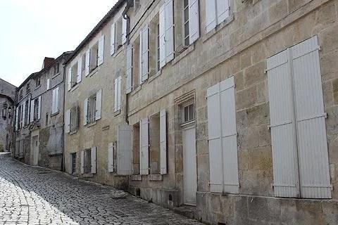 Street in Cognac old town