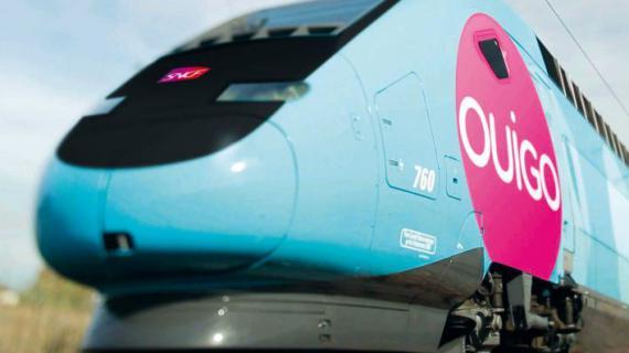 Le TGV low cost lancé mardi 19 février par la SNCF, Ouigo, sera rose et bleu.