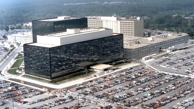 Le quartier général de la NSA, à Fort Meade, dans le Maryland (Etats-Unis).