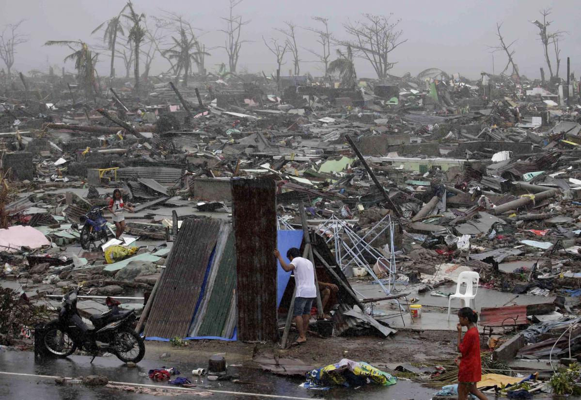 Philippines Les Ravages Du Typhon Haiyan En Images