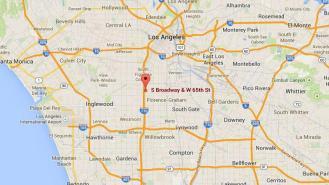 Le jeune homme se trouvait dans la 65e rue, dans le sud de Los Angeles (Californie), lorsqu'il a été abattu par la police le 11 août 2014.