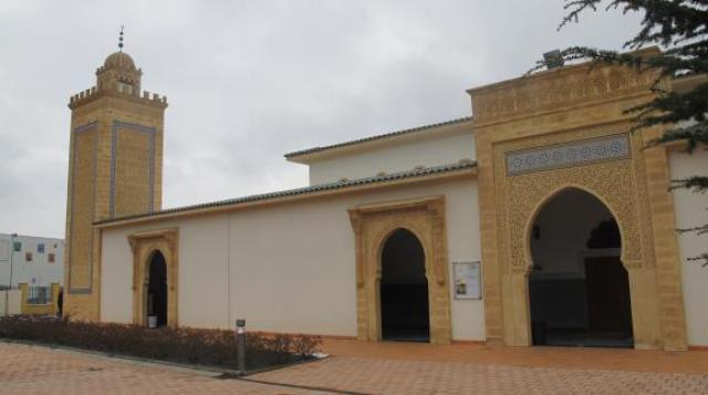 Vue extérieure de la Grande mosquée de Saint-Etienne, le 3 février 2015.