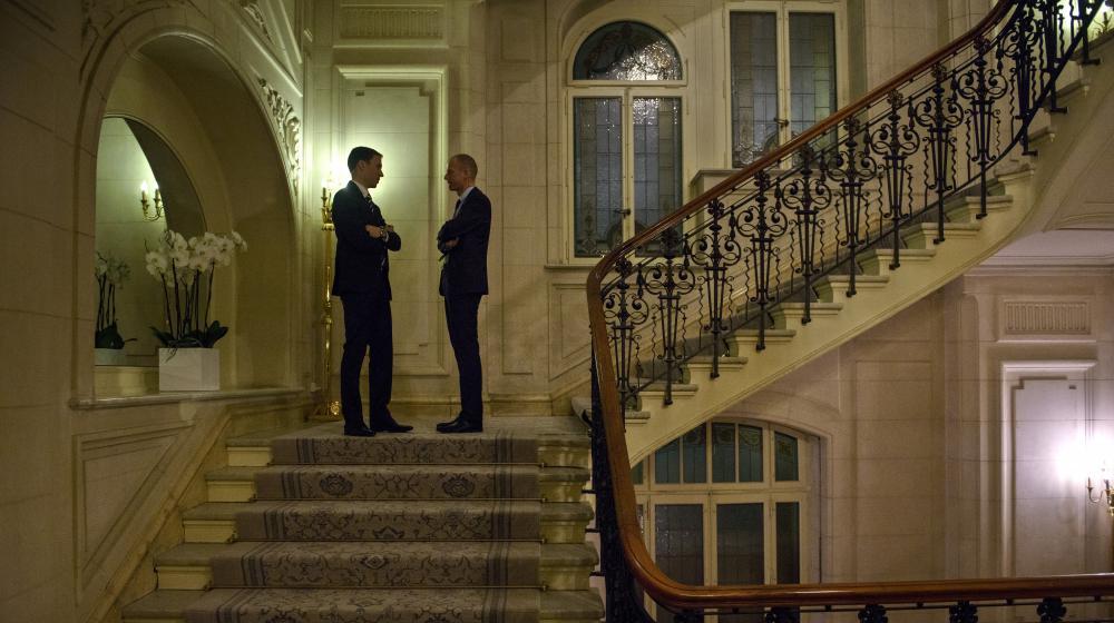 Les négociations sur le nucléaire iranien se déroulent à l'hôtel Beau Rivage de Lausanne (Suisse).
