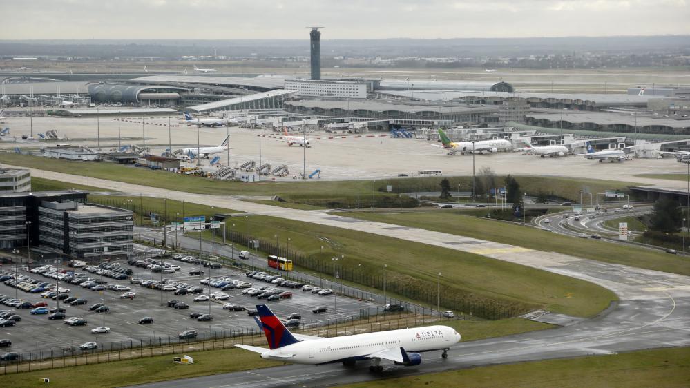 L'aéroport de Roissy-Charles-de-Gaulle, près de Paris, le 27 décembre 2012.