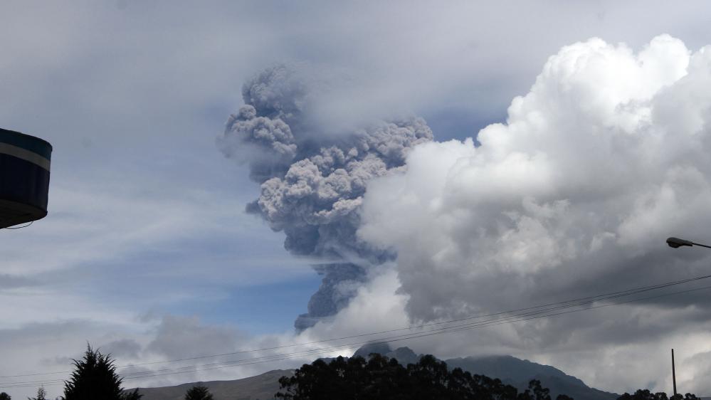 Le volcan Cotopaxi, en Equateur, le 14 août 2015.