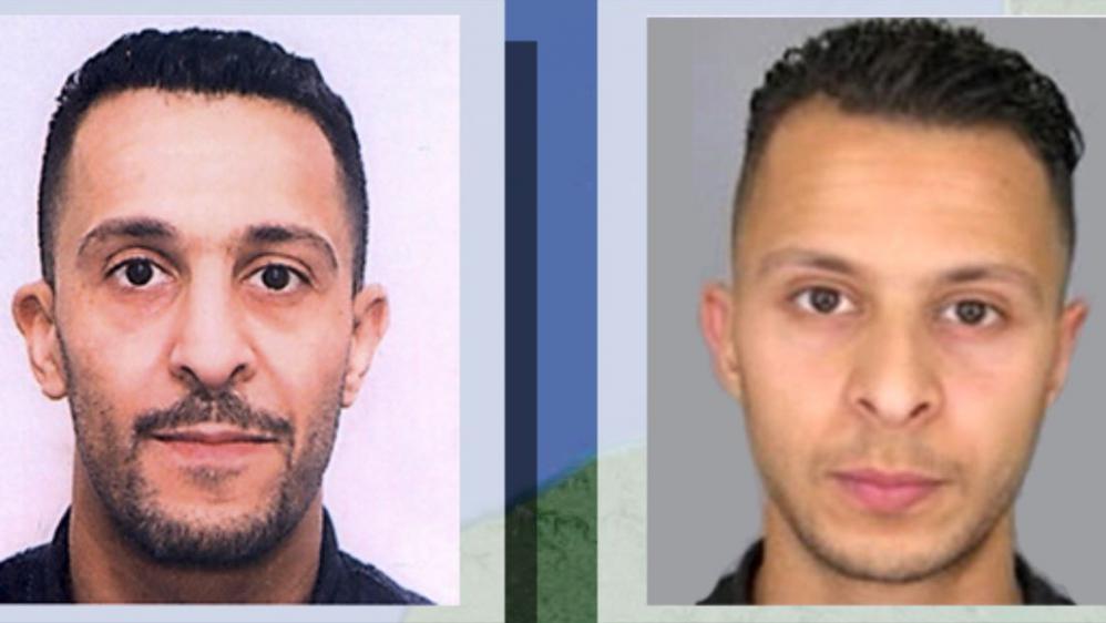 Les deux frères Brahim Abdeslam (à gauche) et Salah Abdeslam (à droite), impliqués dans les attentats du 13 novembre 2015 à Paris et à Saint-Denis.
