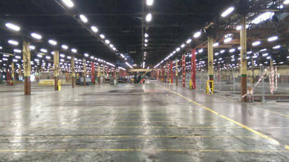 L'usine Goodyear d'Amiens-Nord est aujourd'hui presque entièrement vidée.
