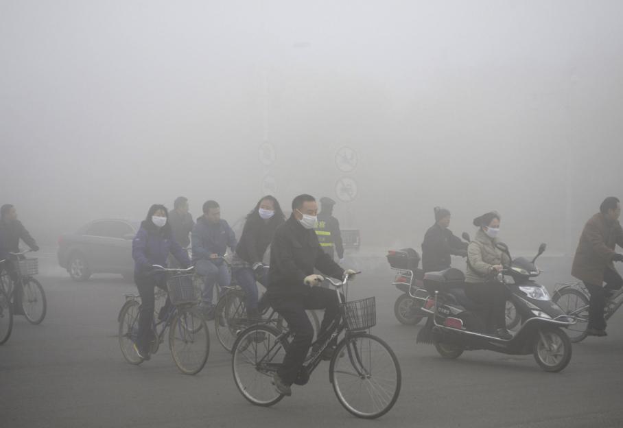 Polusi udara di China
