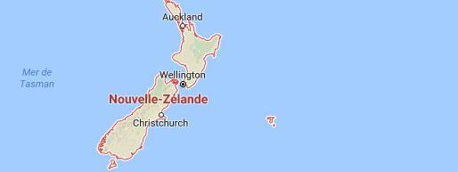 Un séisme de magnitude 7,2 sur l'échelle de Richter a été enregistré vendredi 2 septembre 2016 au large des côtes de la Nouvelle-Zélande, a rapporté l'institut géologique américain (USGS).