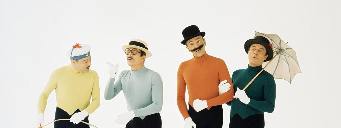 """Les Frères Jacques interprètent \""""C\'que c\'est beau la photographie\"""",en 1968."""