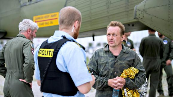 L'inventeur danois Peter Madsen, dans le port de Dragor, près deCopenhague (Danemark), le 11 août 2017.