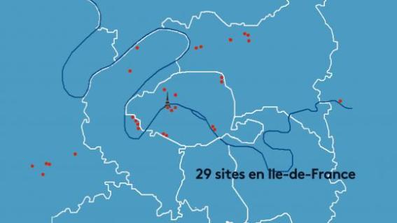 29 sites d\'Ile-de-France accueilleront les épreuves des JO 2024.