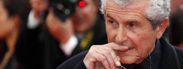Le réalisateur Claude Lelouch, le 11 mai 2011, lors du 64e Festival de Cannes (Alpes-Maritimes).
