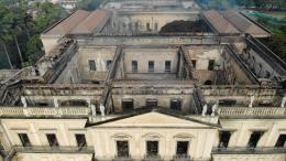 VIDEO. Les trésors du Musée national de Rio de Janeiro sont partis en fumée