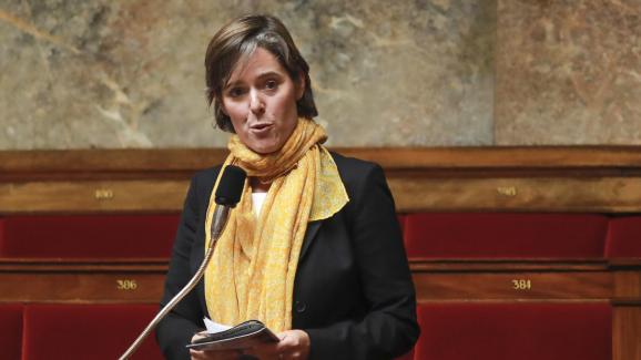 La députée LREM Cendra Motin à l\'Assemblée nationale, le 28 juillet 2017.