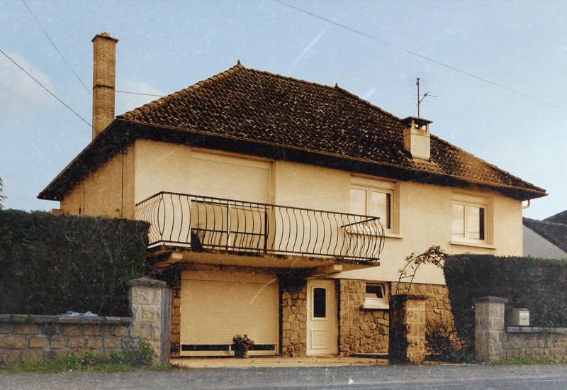 La maison de la famille Sampaio-Alves-Da Cruz, situéau lieu-dit La Combe, à Brignac-la-Plaine (Corrèze).