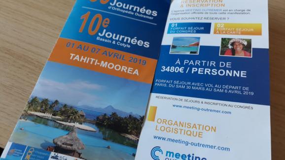 En 2019, les Journées d'orthopédie outre-mer, rendez-vous incontournable pour de nombreux chirurgiens de métropole, se dérouleront à Tahiti.