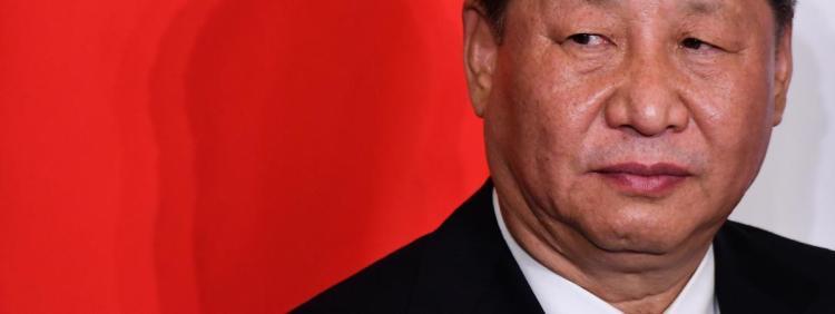 Le président chinois Xi Jinping, le 23 mars 2019, en Italie.