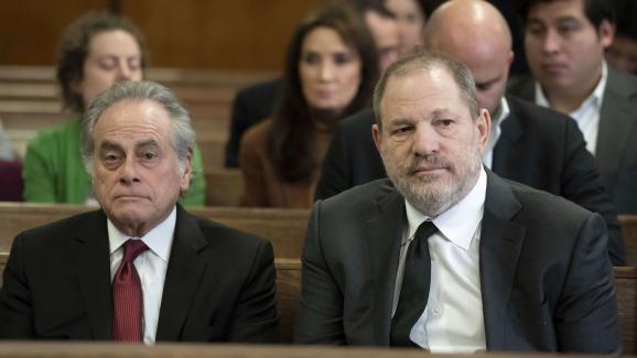 Benjamin Brafman et Harvey Weinsteinau tribunal de New York, le 25janvier2019.