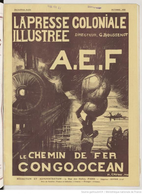 "Journal ""La presse coloniale illustrée\"", octobre 1925."