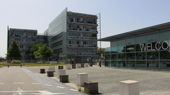 Le siège d'Airbus à Blagnac (Haute-Garonne), le 9 juillet 2020.