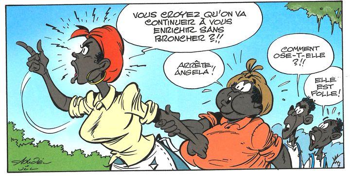"""""""Un cow-boy dans le coton"""" (Lucky Productions)"""
