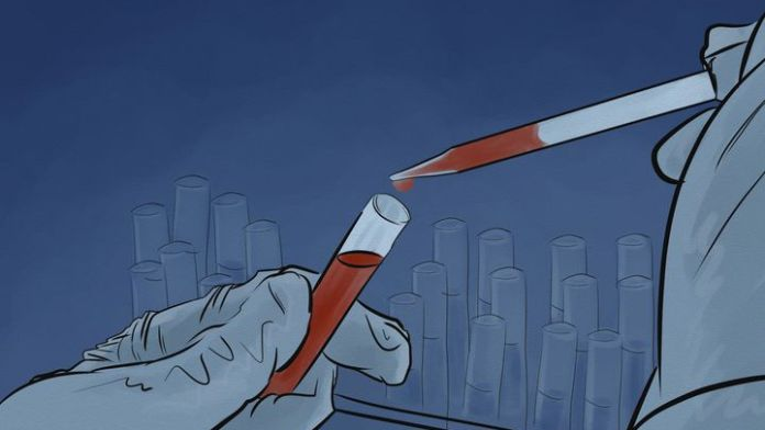 All 9,000 blood samples from participants in the Constances cohort were tested, which identified 176 positive cases, including ten that were taken in November and December 2019. (NICOLAS DEWIT / RADIOFRANCE)