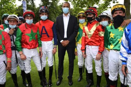 the galloping ardour of athletes for racehorses