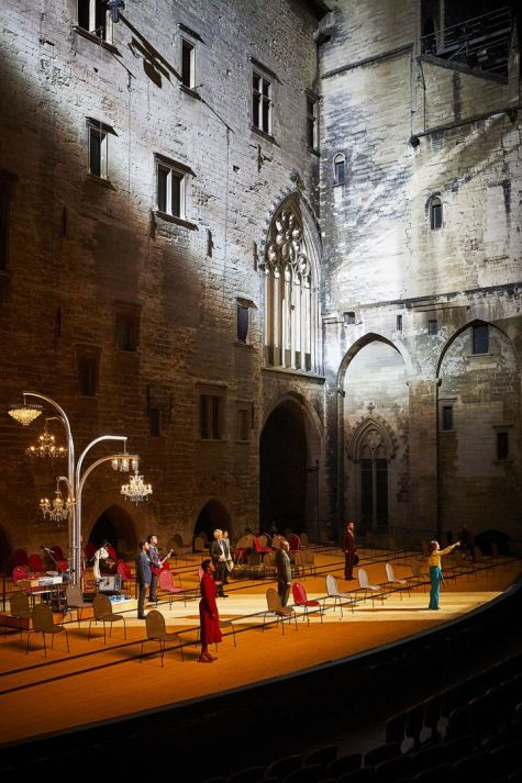 """""""La Cerisaie"""", ouverture de la 75e édition du Festival d'Avignon (CHRISTOPHE RAYNAUD DE LAGE)"""