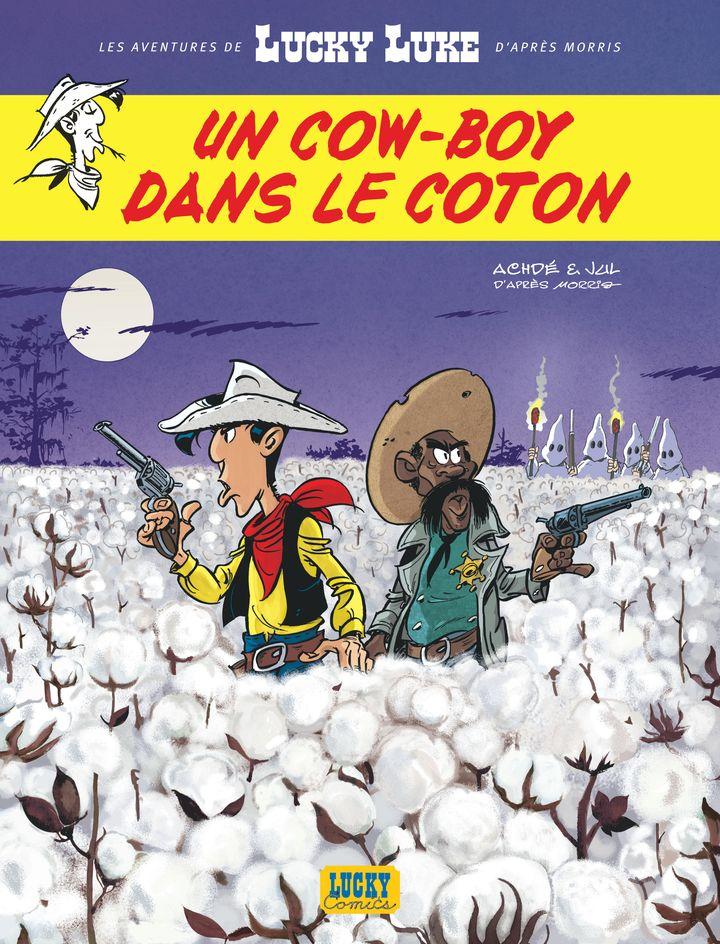 """Le nouveau Lucky Luke : """"Un cow-boy dans le coton"""" (Lucky Productions)"""