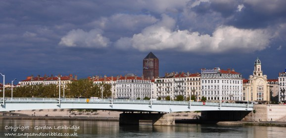 Lyon between the Rivers Saone and Rhone