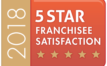 5 Star Franchise Satisfaction Badge