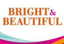 Bright and beautiful franchise logo