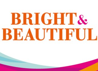 Bright and beautiful franchise logo