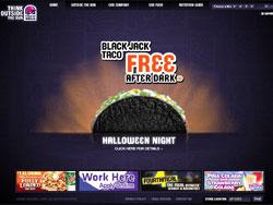 Taco Bell website