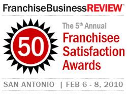 Franchisee Satisfaction Awards 2010
