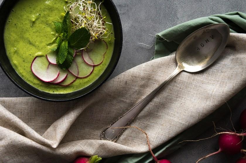 receita gazpacho verde
