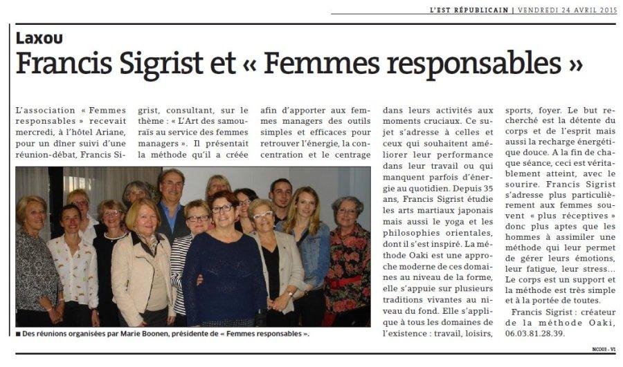 Femmes responsables