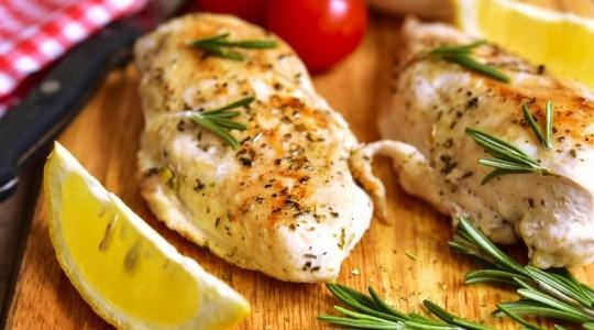 blancs de poulet au citron thym