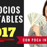 10 Negocios Rentables Con Poca Inversión (2017) Parte 1 [Comienza Negocio Rentable Con Menos De $50]