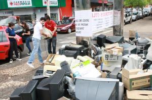 Na primeira edição da campanha deste ano, 15 toneladas de lixo eletroeletrônico foram coletadas