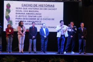 Prefeito Cantelmo Neto fez a abertura oficial do evento